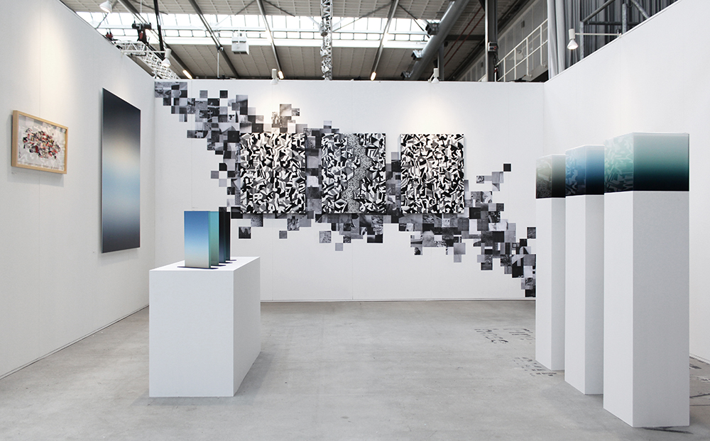 Group presentation at Art The Hague 2018 Art Fair