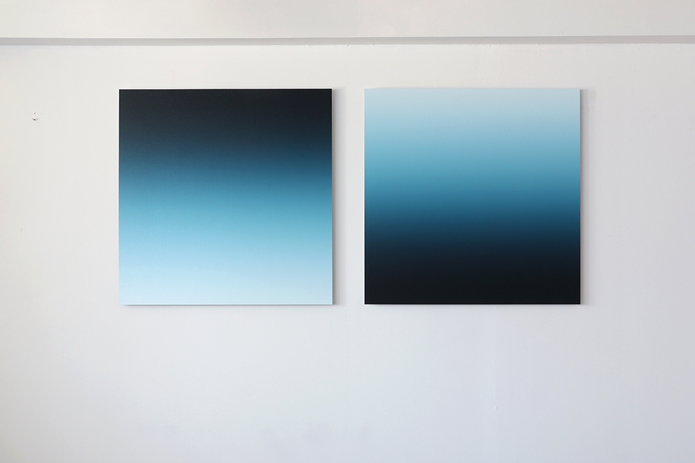 New Blue No.3 (Diptych)